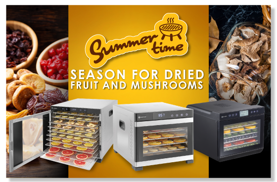Season For Dried Fruit And Mushrooms